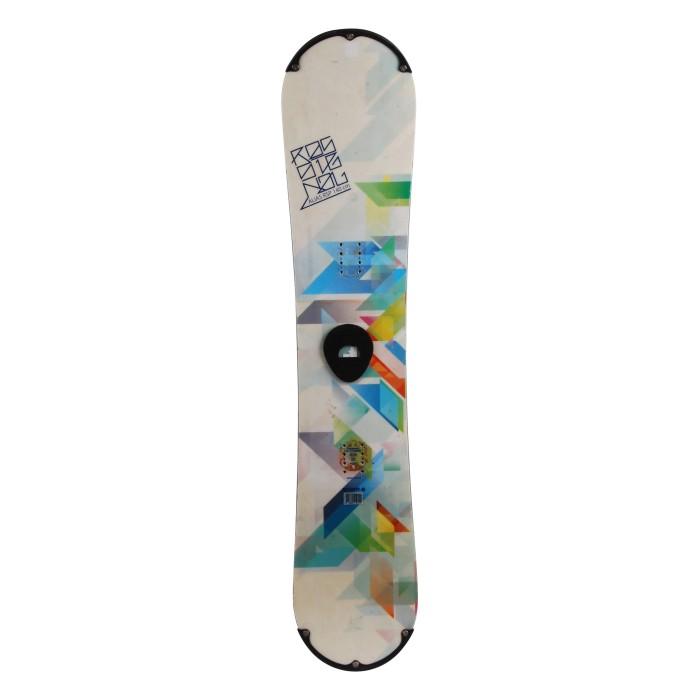 Snowboard occasion junior Rossignol alias RSP + fixation coque