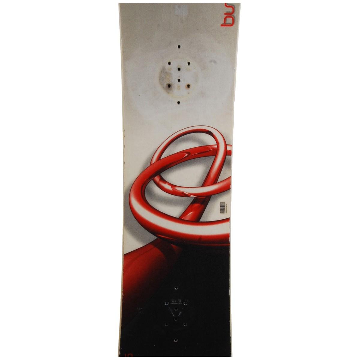 Snowboard-occasion-Burton-cruzer-fixation-coque miniature 4
