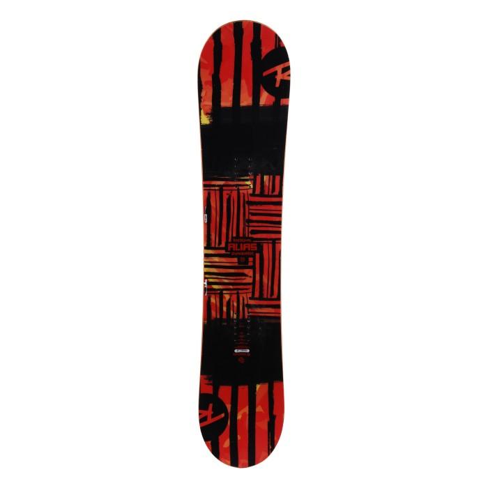 Snowboard Anlass Junior Rossignol Alias rot - Befestigung