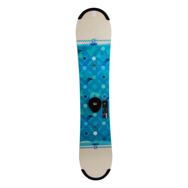 Vincha de snowboard Salomon Lotus usada + encuadernación