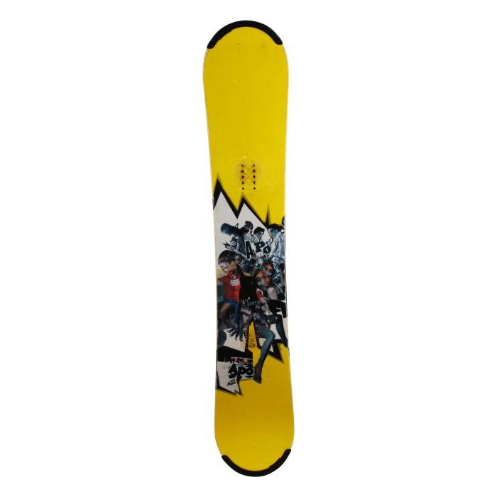 Snowboard occasion Apo method projet + fixation