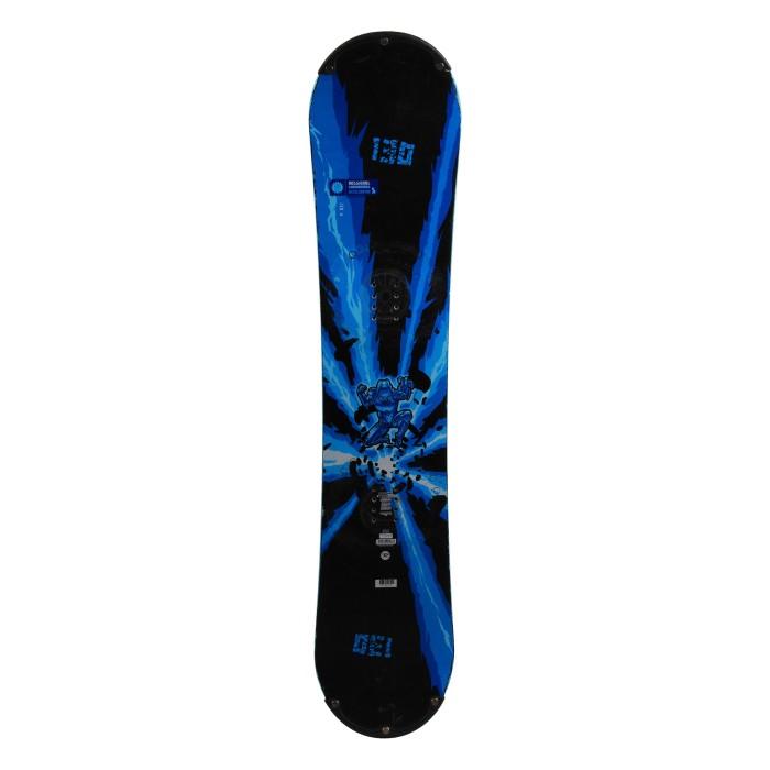 Snowboard occasion junior Rossignol accelerator s + fixation coque
