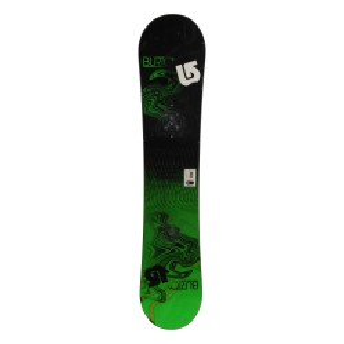 Snowboard occasion junior Burton LTR + fixation coque
