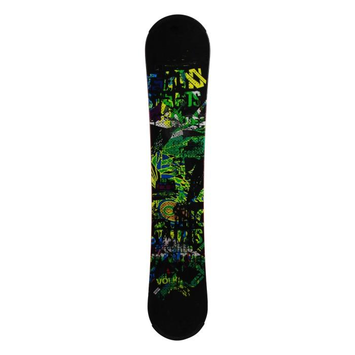 Volkl Booster snowboard usado + montaje en el casco