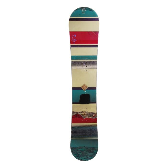 Snowboard occasion K2 Firstlite + fixation