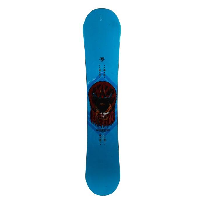 La tabla de snowboard Bright Lite negra / rosa + con casco