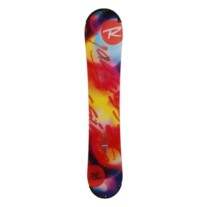 Snowboard occasion Rossignol tesla demo + fixation coque