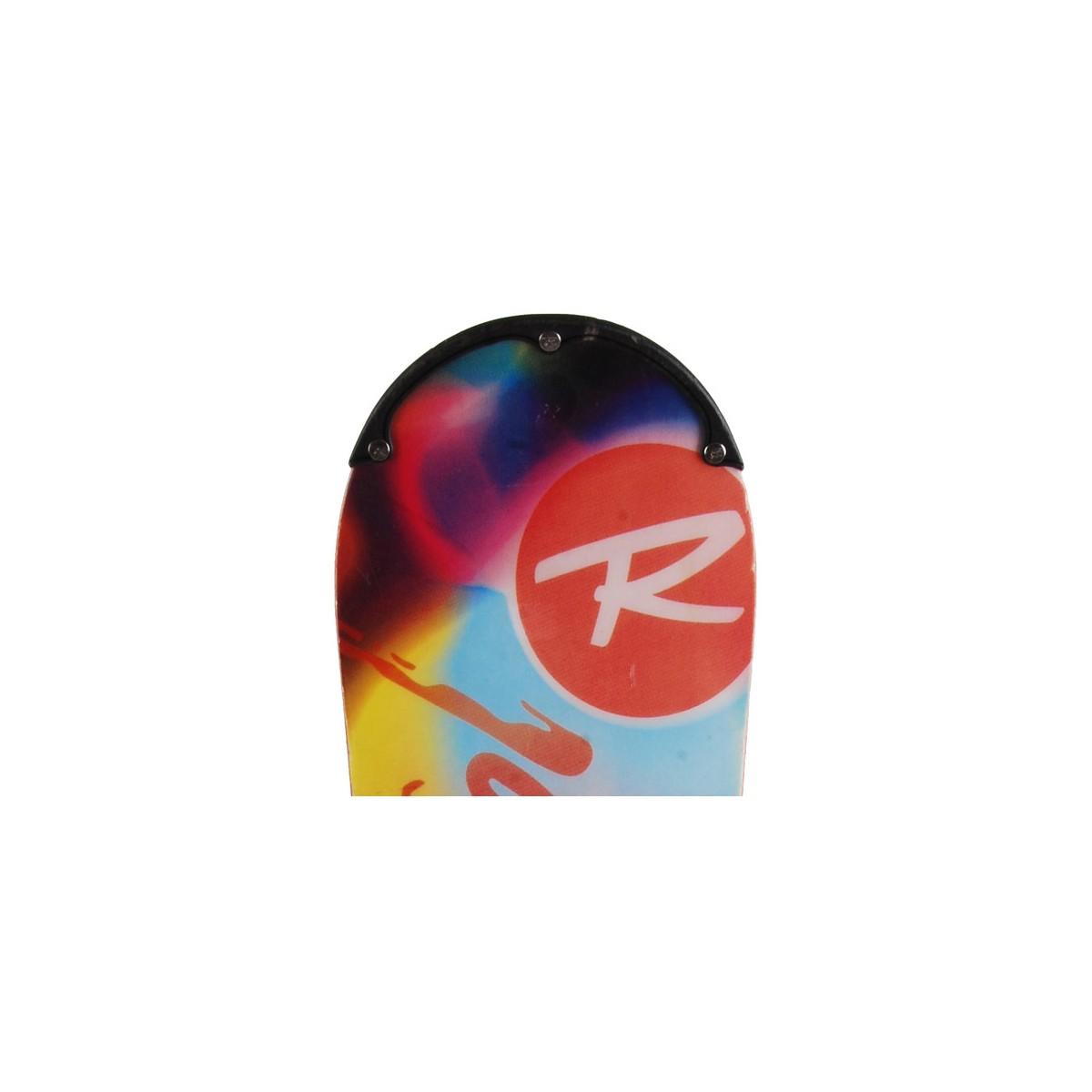 Snowboard-occasion-Rossignol-tesla-demo-fixation-coque miniature 3