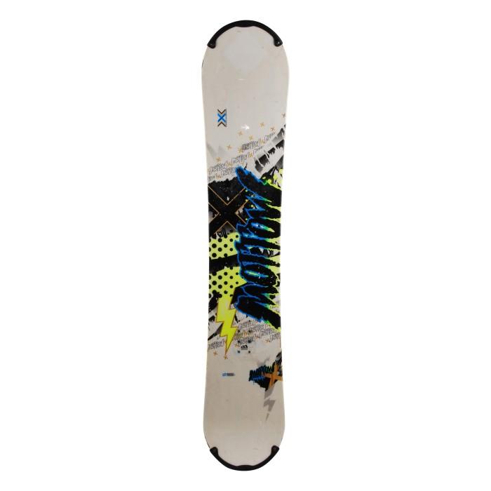 Snowboard occasion Morrow Radium 2e choix + fixation