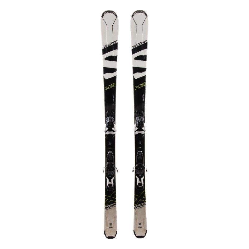 Ski Salomon X Max X8 occasion Qualité A + Fixations