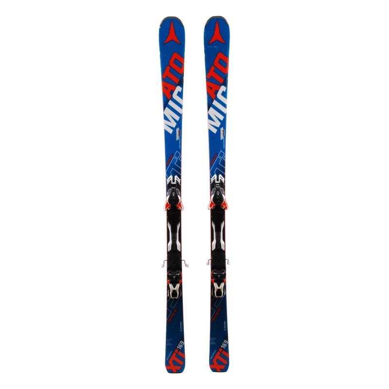 Esquís usados Atomic Redster XTI + fijaciones
