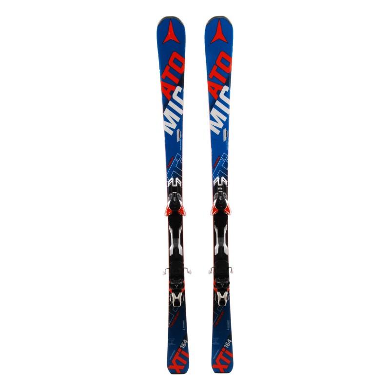 Used ski Atomic Redster XTI + bindings