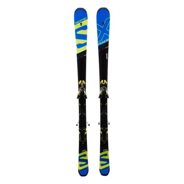 Ski Salomon X race SC SL occasion + fixations