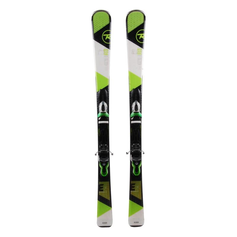 Ski Rossignol Experience 75 blanco verde + fijaciones