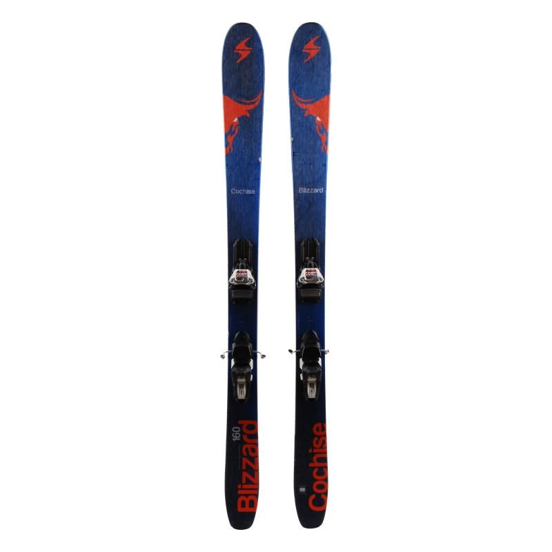 Ski occasion Blizzard cochise Qualité A + fixations
