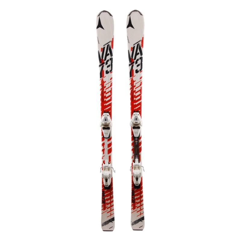Ski verwendet Atomic Vario Faser + Bindungen