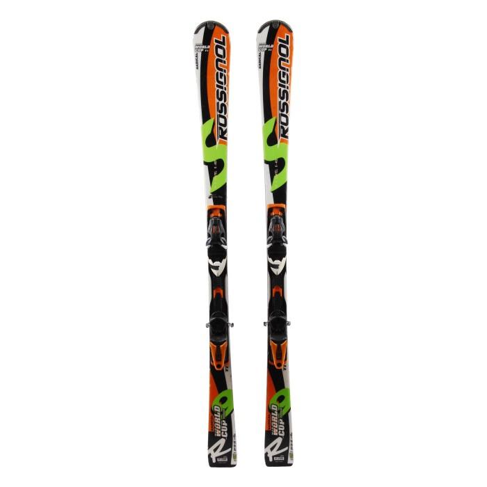 Ski Rossignol R9S Ti Oversize Occasion - Fixations