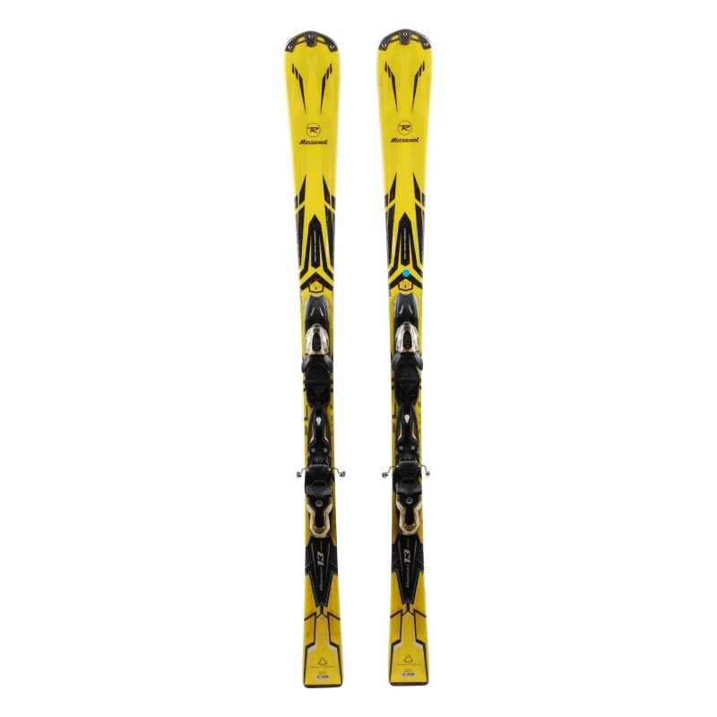 Ski Rossignol Pursuit 13 carbon occasion Qualité B + fixations