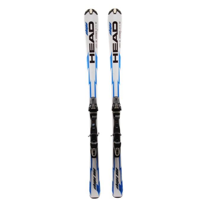 Forma de cabeza de esquí Una ocasión - fijaciones
