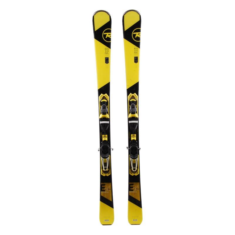 Ski Rossignol Experience 84 Carbon yellow + bindings