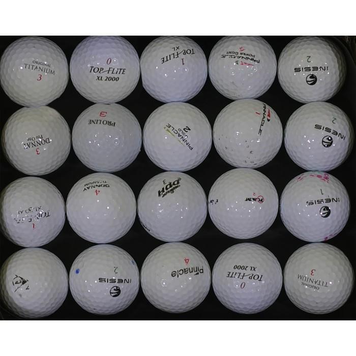 Lot de 20 Balles de golf occasion 1er prix