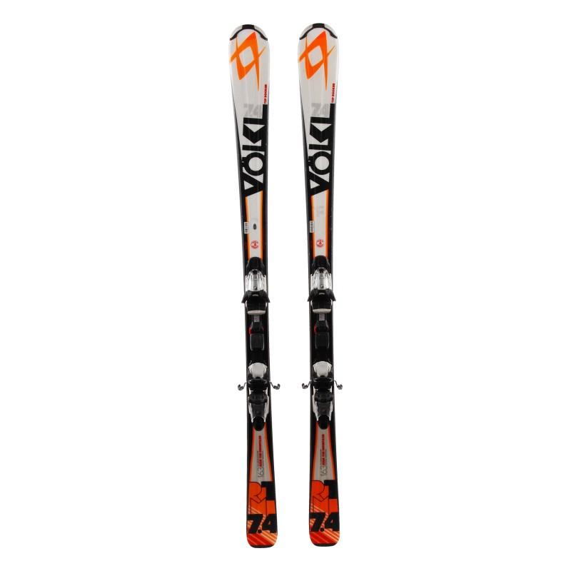 Utiliza Ski Volkl RTM 7.4 + fijaciones