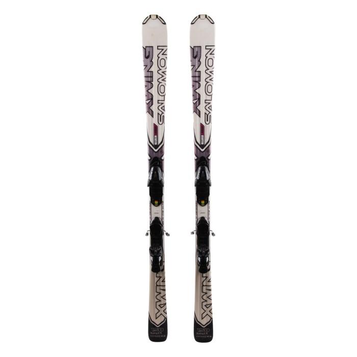 Ski Salomon X Wing 6 occasion + fixations