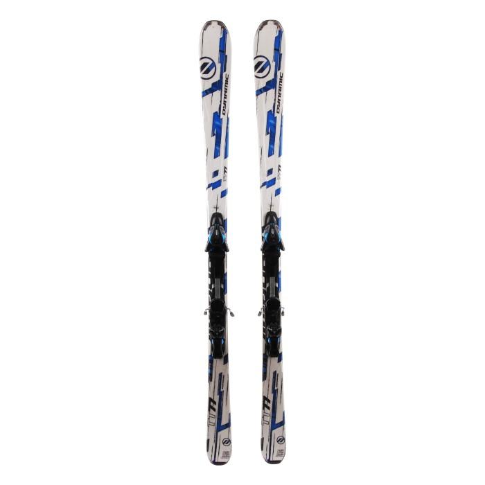 Used ski Dynamic TT 77 white / blue + bindings