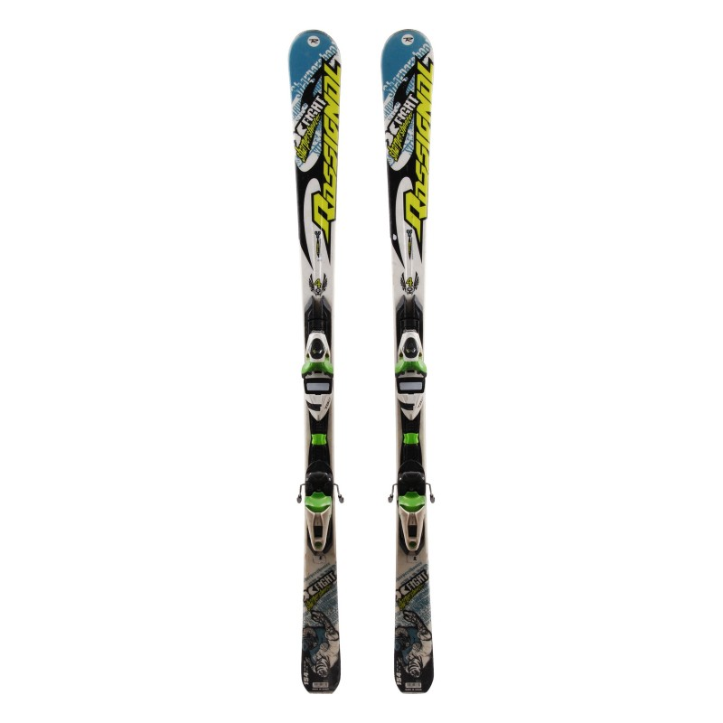 Ski Rossignol X Fight Sharpershooter occasion Qualité A + fixations
