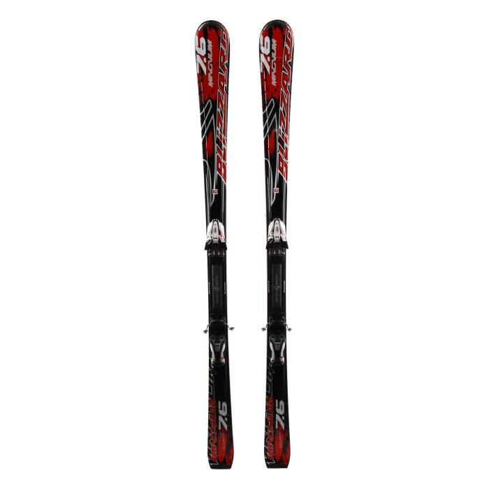 Ski Blizzard Magnum 7.6 occasion + fixation