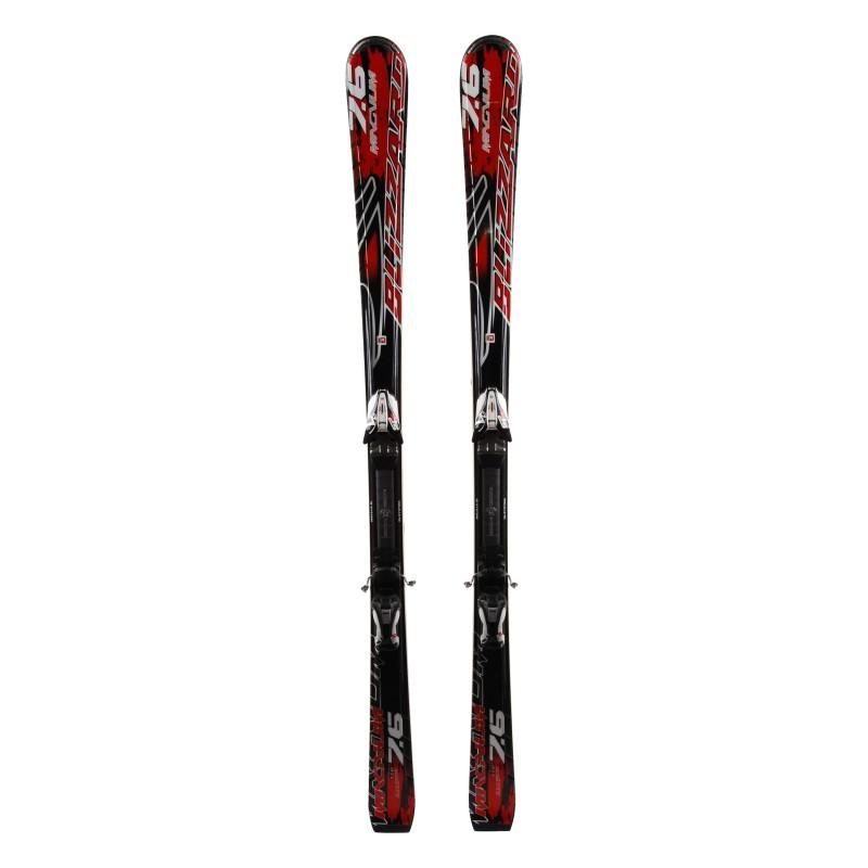 Ski Blizzard Magnum 7.6 occasion Qualité A + fixation