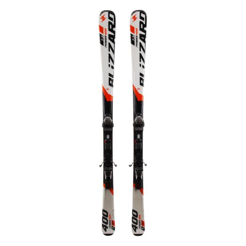 Ski Blizzard Power 400 7.3 occasion 1er choix + fixations
