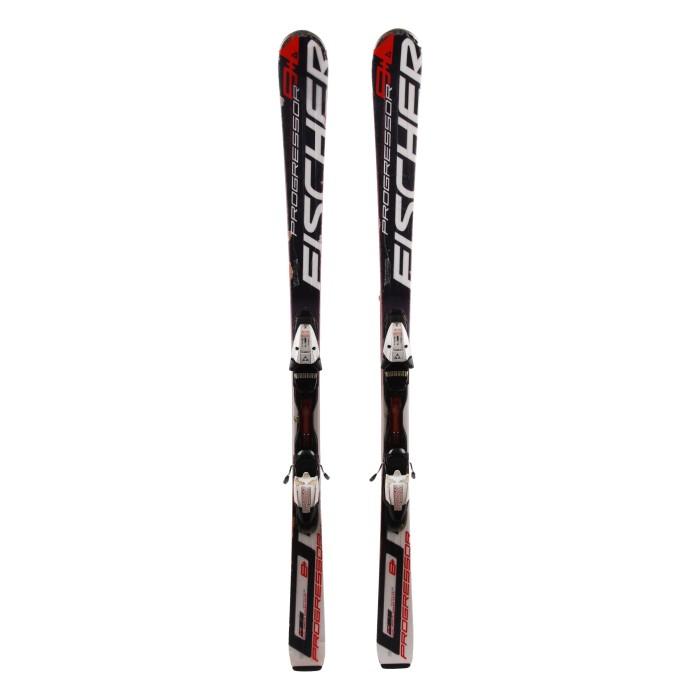 Ski Fischer Progressor 8+ occasion + fixations