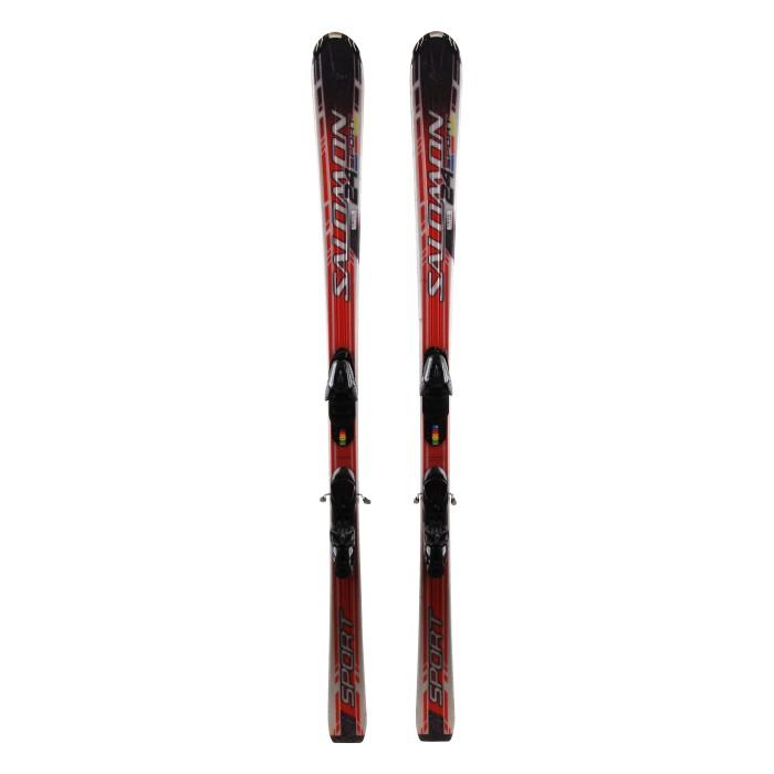 Ski occasion Salomon 24 Sport + fixations