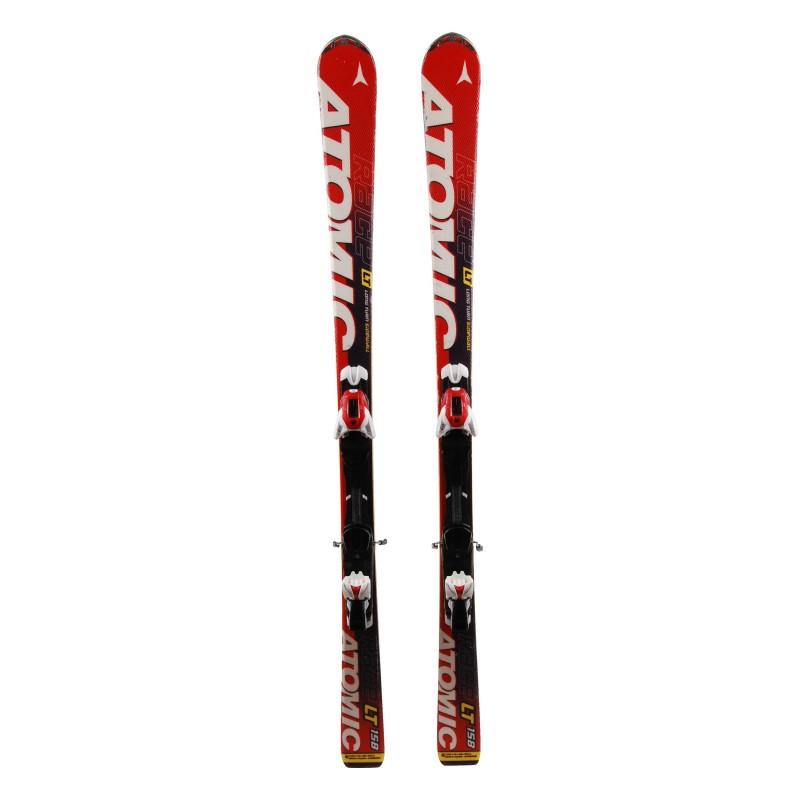 Gebrauchter Ski Atomic Race LT rot + Bindungen