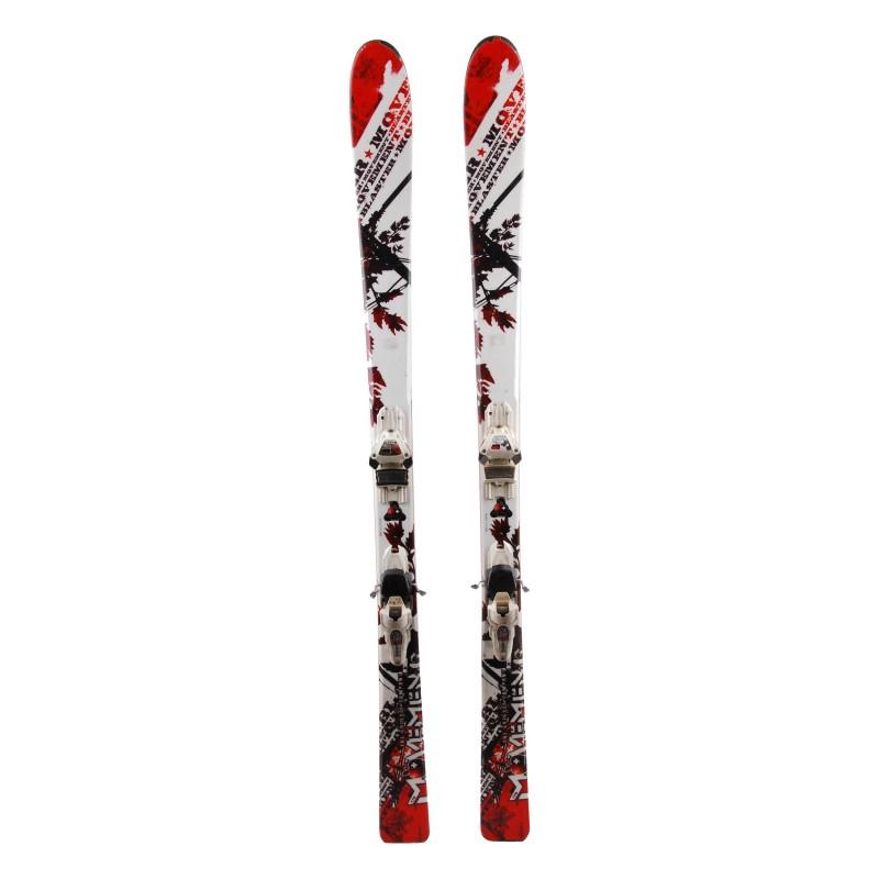 Ski Red Blade Uhrwerk Weiß + Bindung