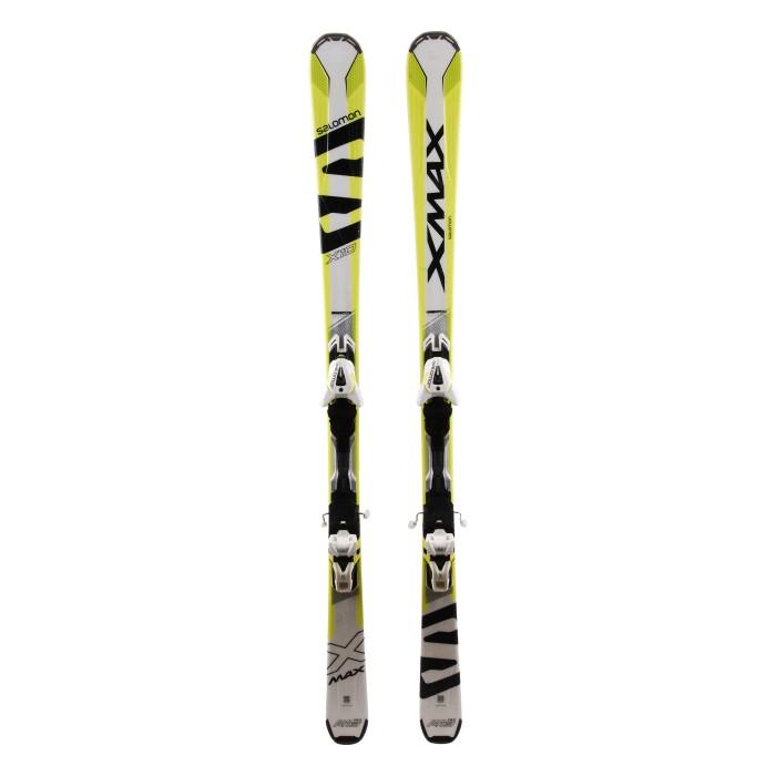 Ski used Salomon X Wing 800 red + Bindings