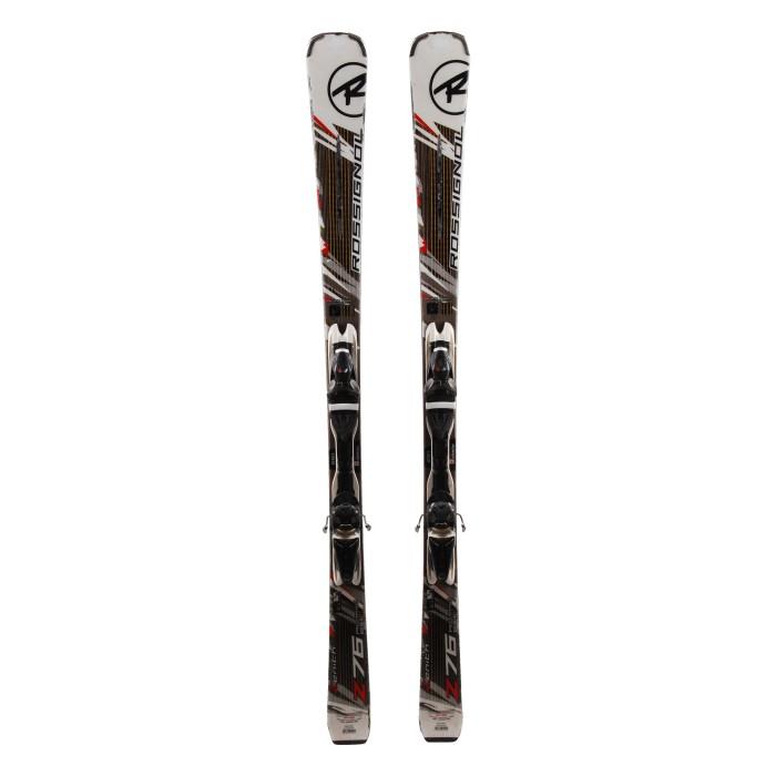 Ski Rossignol Z76 Aramild Basalt occasion + Fixations