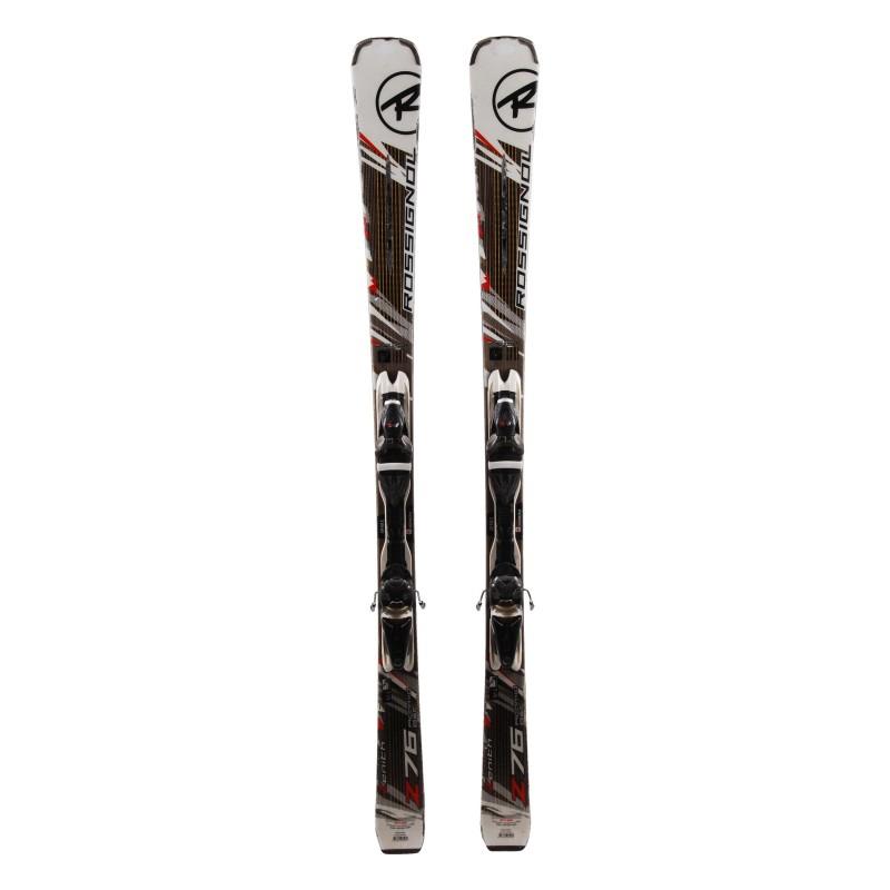 Gebrauchte Rossignol Z76 Aramild Basalt + Skibindungen