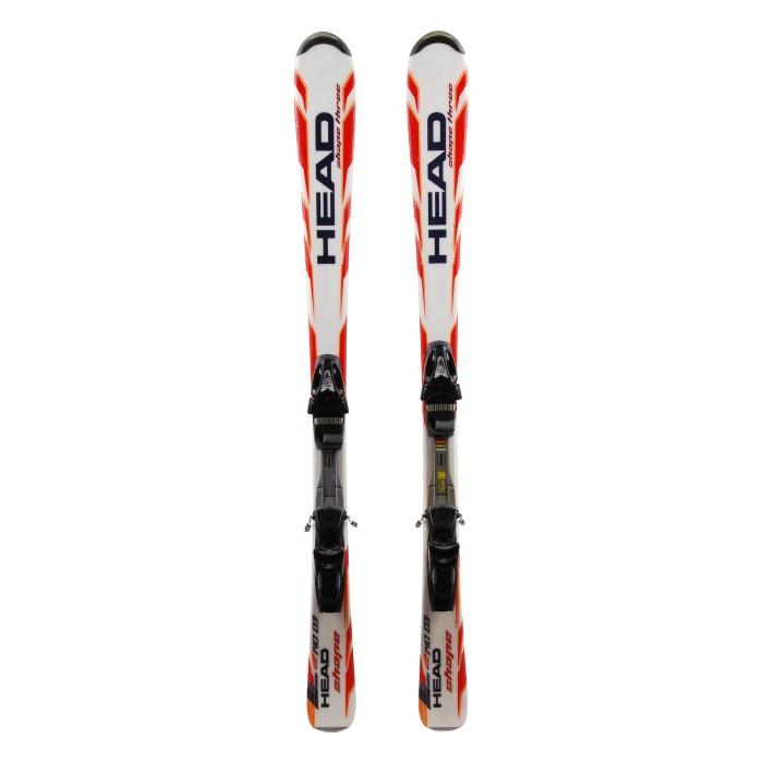 Forma de cabeza de esquí Tres oportunidades - fijaciones
