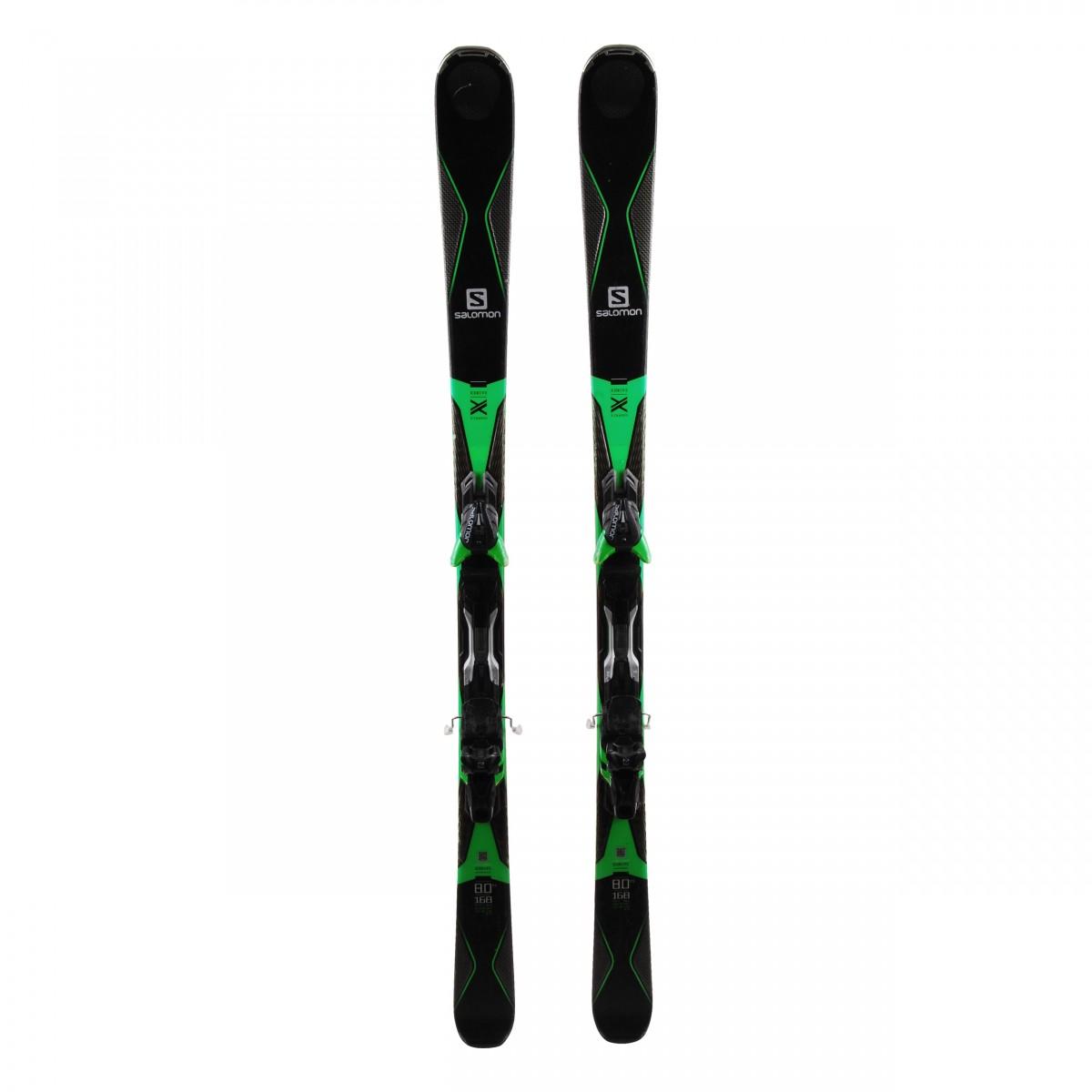 štab toranj prije  Ski Salomon X Drive 8.0 FS-Fixations