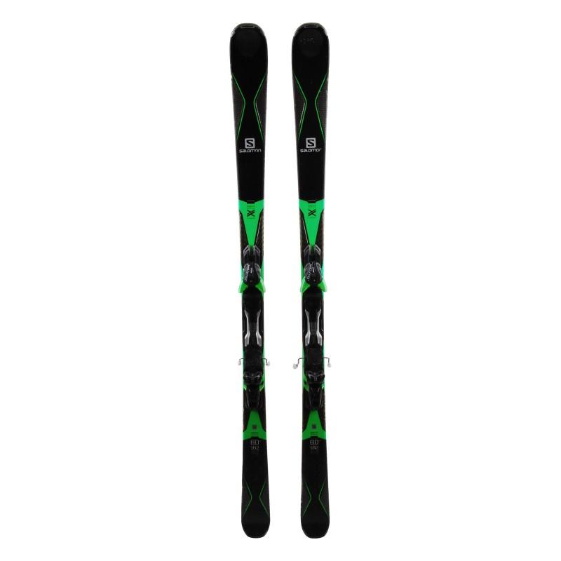 Ski Salomon X Drive 80 TI Green Black + Bindings