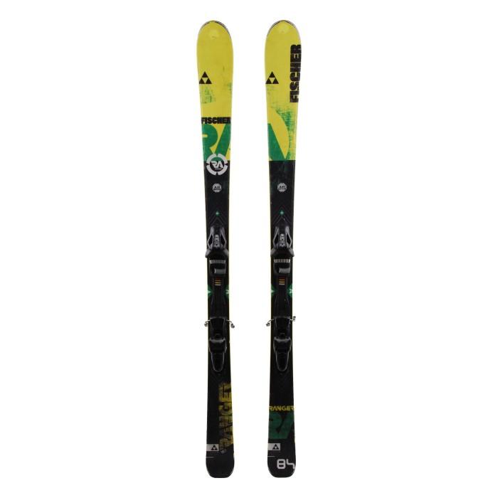 Ski occasion Fischer Ranger 84 - bindings