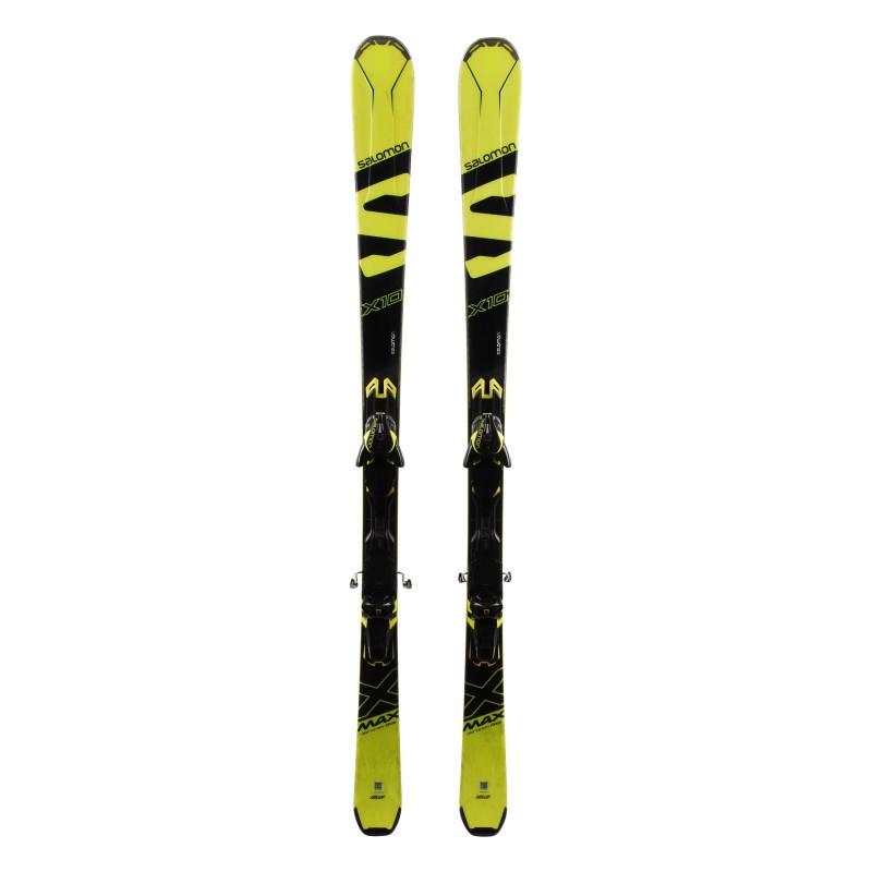 Ski Salomon X Max X10 occasion Qualité A + Fixations