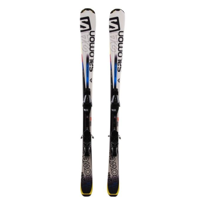 Ski Salomon 24 R Power occasion - bindings