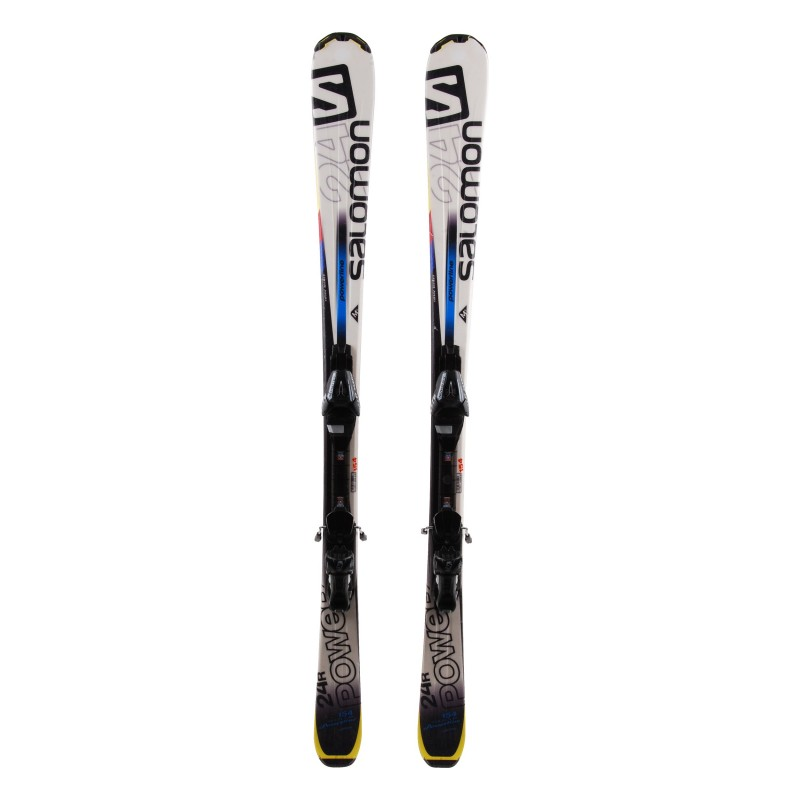 Ski Salomon 24 R Power occasion Qualité A + fixations