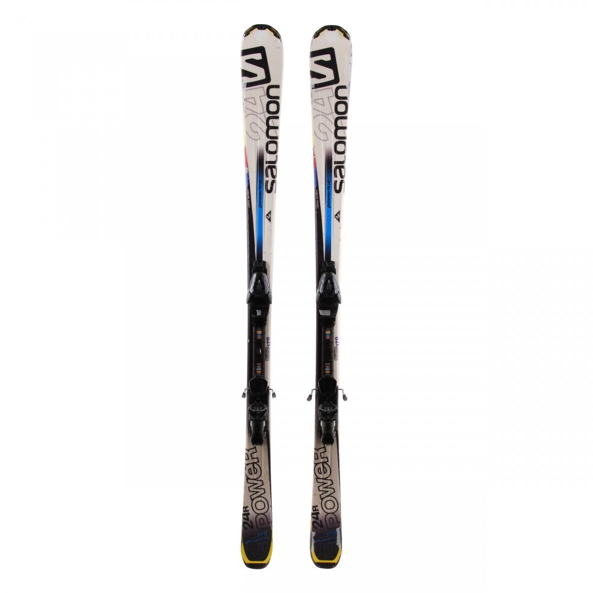 Ski Salomon 24 R Power occasion + fixations
