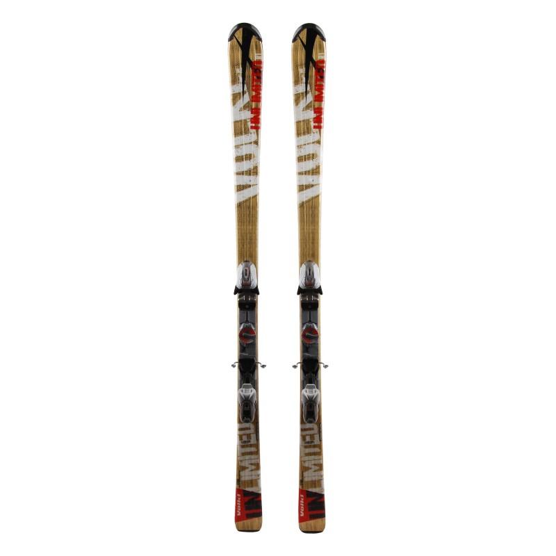 Gebrauchte Ski Välkl Unlimited R1 Gold + Fixatons