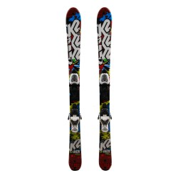 Ski occasion junior K2 indy Rocker + fixations