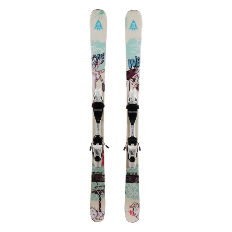 Junior ski Wedze Twintricks Pro Team 2nd choice + bindings